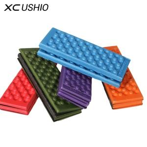XC USHIO Foldable Folding Outdoor Camping Mat XPE Waterproof Seat Foam Pad Chair Picnic Moisture-proof Mattress Beach Mat Pad(China)