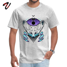 Men Latest Leisure Tops Tees Round Collar VALENTINE DAY Java T Shirts Motorcycle Short Sleeve Fennec &