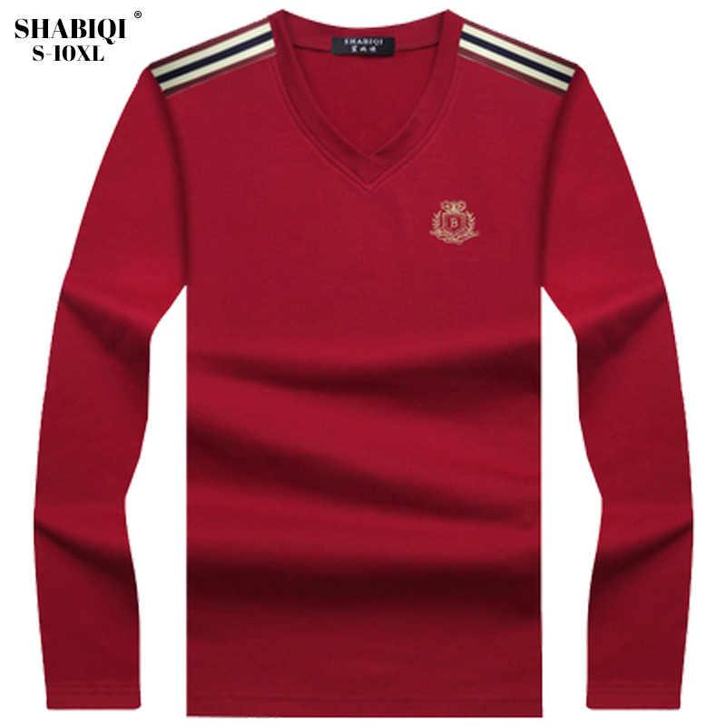 2019 fashion autumn long sleeve cotton comfortable polo shirt men casual plaid men polo Plus size 6XL 7XL 8XL 9XL 10XL