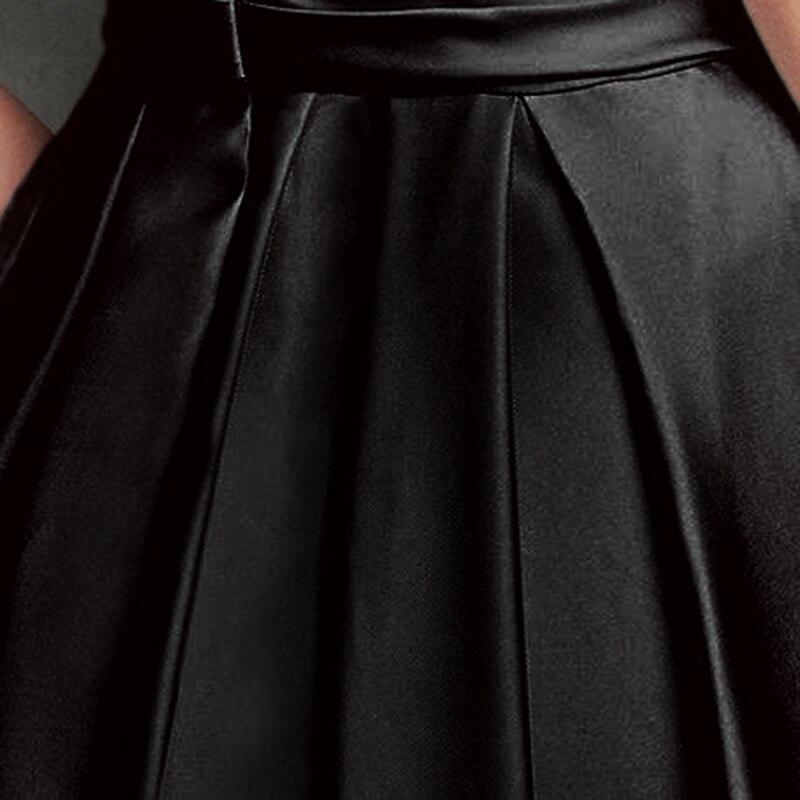 Negro Moda Pierna De Ancha Cintura Sueltos Pantalones Nueva Primavera qgnxBXg