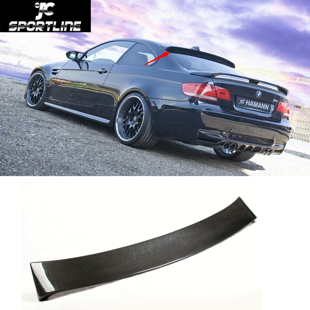 E92 HM font b car b font styling carbon fiber Roof spoiler Auto roof wing for