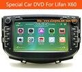Высокое качество 8 дюймов Автомобиля Радио Для Lifan X60 dvd автомобиль Gps С Бесплатным Карте Карты V6CD MP3/MP4 AM/FM