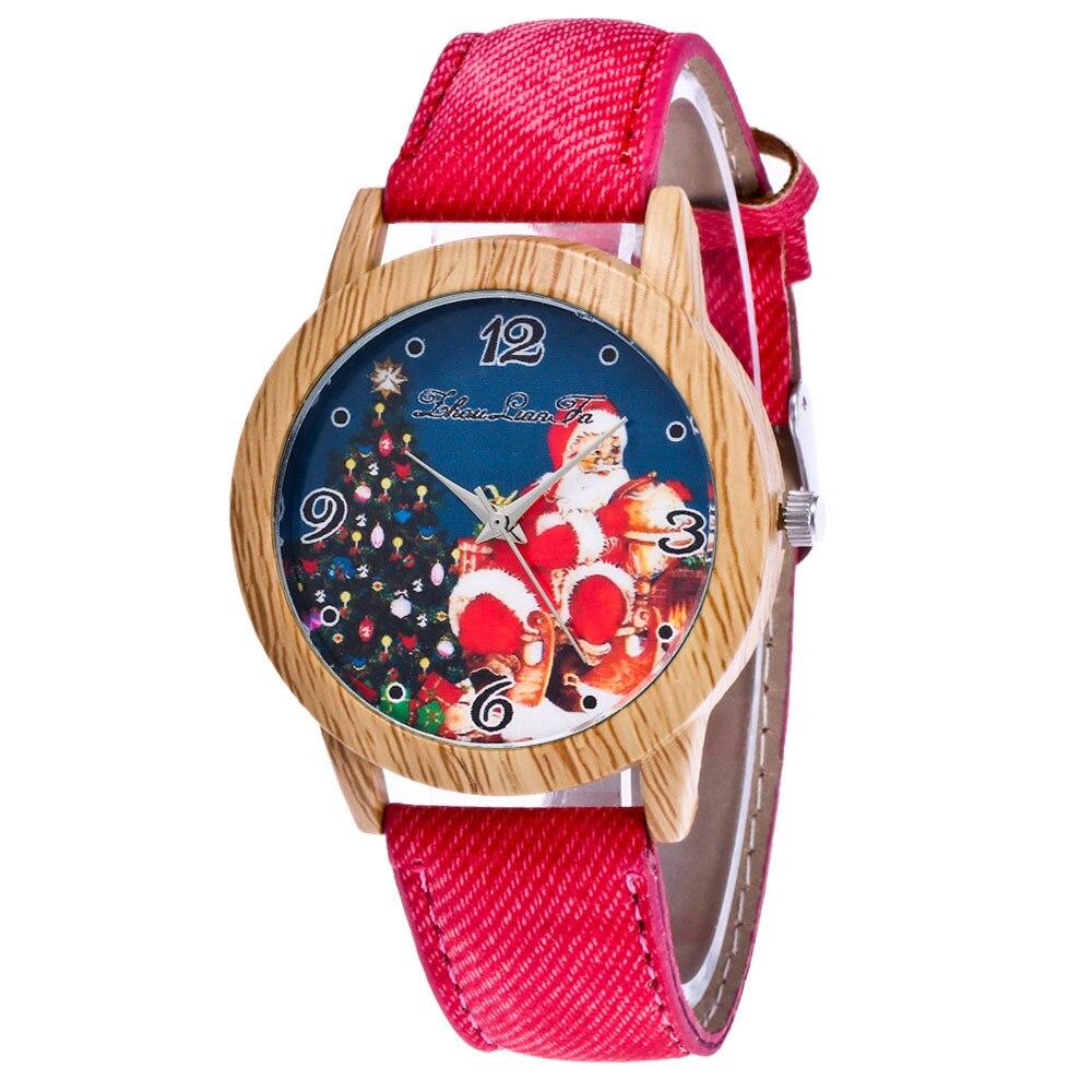 Women Watches Wooden Watch Quartz Wristwatch Clock