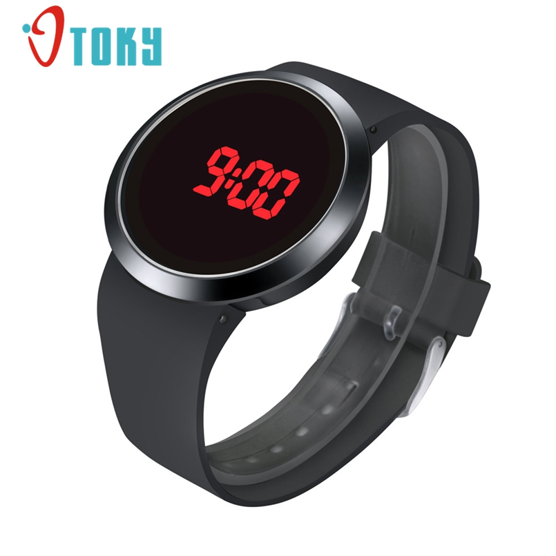 OTOKY Women Watches Fashion Waterproof Men LED Touch Screen Day Date Silicone Wrist Watch Relogio Feminino 1Pc Dropship adjustable wrist and forearm splint external fixed support wrist brace fixing orthosisfit for men and women