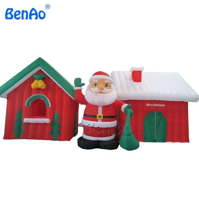 Chirstmas Decoration Supplies Santa Claus Inflatable Christmas,lowers  Christmas Inflatables,inflatable Santa Claus Decorations