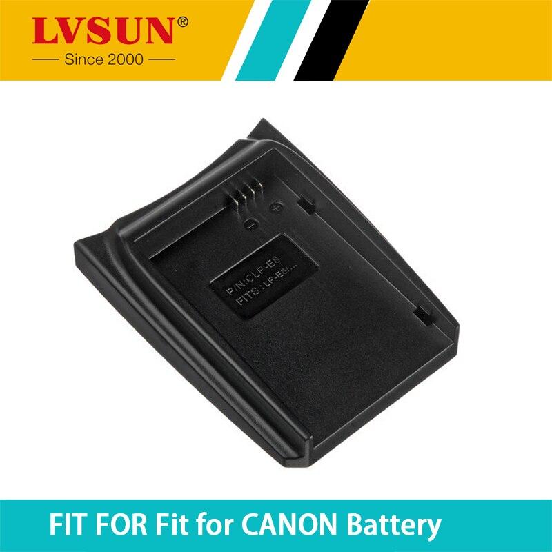 LVSUN LP E8 LP-E8 LPE8 Rechargeable Battery Case Plate for CANON EOS 550D 600D 650D 700D Rebel T2i Kiss X5 Batteries Charger
