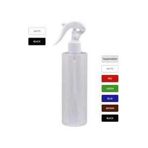 Image 3 - 250 ml Nhựa Rỗng Hộp Đựng mỹ phẩm Chuột Kích Hoạt Máy Bơm Xịt, Trang Điểm Trắng Đen Chai Kích Hoạt Máy Phun Sương 25 cái/lốc
