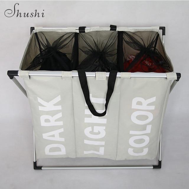 Organização De Armazenamento De roupa suja cesta de lavanderia cesta de armazenamento cesta de banho cesta home office frete grátis