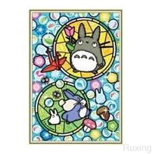 DIY Diamond Painting Cross Stitch Animated My Neighbor Totoro cartoon Needlework Home Decor Mosaic 5D Embroidery