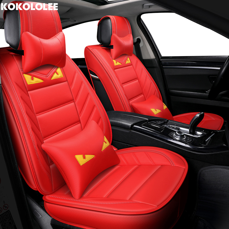 [KOKOLOLEE] auto car seat cover Pour opel zafira une skoda octavia 2 toyota mark 2 opel astra k bmw f20 voiture accessoires de voiture-style