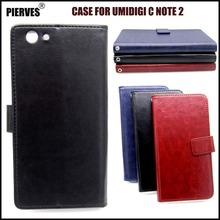 Casteel Classic Flight Series high quality PU skin leather case For UMIDIGI C Note 2 Note2 Case Cover Shield