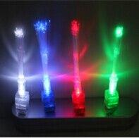 Best Birthday Gift shipping 2500pcs/lot LED laser finger fiber light LED balloon light for Party KTV Bar decoration M096