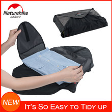Naturehike Outdoor Travel Garment Folder Tidy Up Shirt Clothes Organizer Packing Folder Wrinkle-Free Dust-proof Buggy Bag(China)