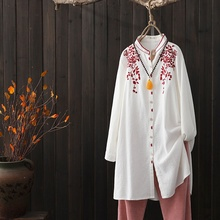 blouses Japanese womens spring
