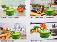 Use Manual Meat Grinder Sausage Machine Novel Convenient Fruits And Vegetables Crusher