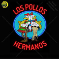 Los Pollos Hermanos Breaking Bad NEON LIGHT SIGN Cups Neon Sign Decorate Wall Hotel BEER PUB ручная работа Знаковый знак
