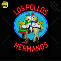 Los Pollos Hermanos Breaking Bad NEON LIGHT SIGN Cups Neon Sign Decorate Wall Hotel BEER PUB Pub Handcraft Iconic Sign light