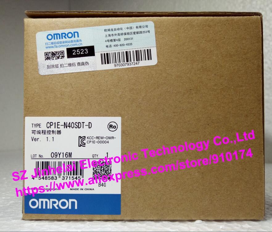 все цены на 100% New and original CP1E-N40SDT-D  OMRON PLC CONTROLLER онлайн