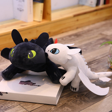 How to Train Your Dragon 3 plush Toys doll Toothless light Fury Anime Figure Night Plush Doll 35cm Kids gift