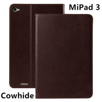 Case Cowhide For Xiaomi MiPad 3 Protective Smart Cover Genuine Leather Tablet PC 3 Mipad3 2