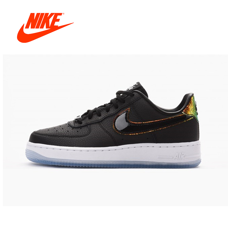 cheaper b5884 8cefb Original New Arrival Authentic Nike WMNS Air Force 1 07 Premium Mens  Skateboarding Shoes Sneakers Good Quality 616725-007