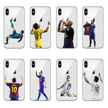Barcelona Messi Ronaldo Neymar Soccer star Soft silicone Phone Case Cover For iphone 5s se 6 6s Plus 7 7Plus 8 8Plus cover(China)