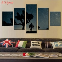 Perseid Meteor Canvas Set Wall Modular Pictures For Living Room Paintings For Living Room Wall Pictures