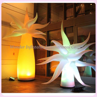 Super quality wedding party use 1.5mH oxford cloth inflatable led tree for stage event decoration