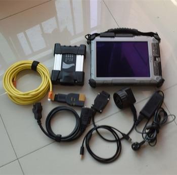 2019.9 Next Icom A+B+C Scanner For BMW icom next with Software 480gb ssd + xplore ix104 i7 table for bmw ista diagnostic