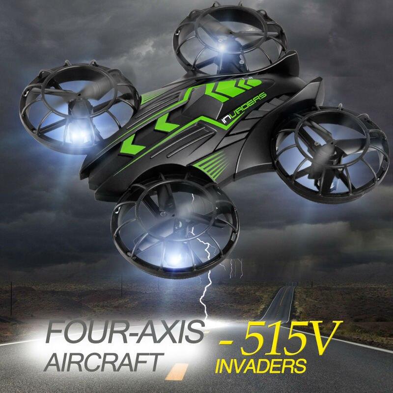 Le plus nouveau Drone JXD 515 W envahisseurs UFO WIFI FPV Drone 2.4 GHz Drone avec caméra mis en Mode haut de gamme Mode sans tête RTF pour les meilleurs cadeaux - 2