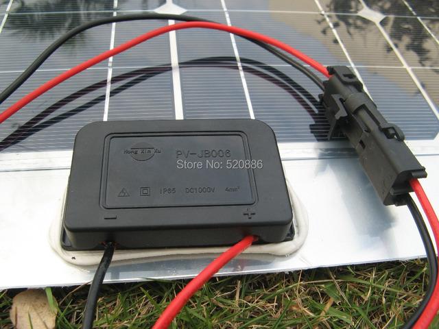 DE stock, 80w,2pcs 40W mono semi-flexible pv solar panel, fsolar charger, battery charger, or boat RV,  free shipping