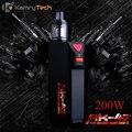 Caixa mod cigarro eletrônico kamry ak-47 200 w tc camuflagem e hookah vaporizador de FUMO Grande Camo AK 47 Tanque RDA Vape Mod Kit X1037