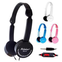 Retractable Foldable Over-ear Headphone Headset with Microphone Stereo Bass for Kids