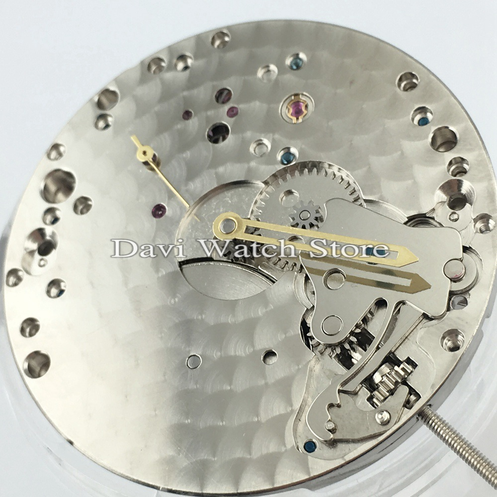 Seagull ST36 Swan Neck 6497 17 Jewels Hand Winding Movement fit parnis watch