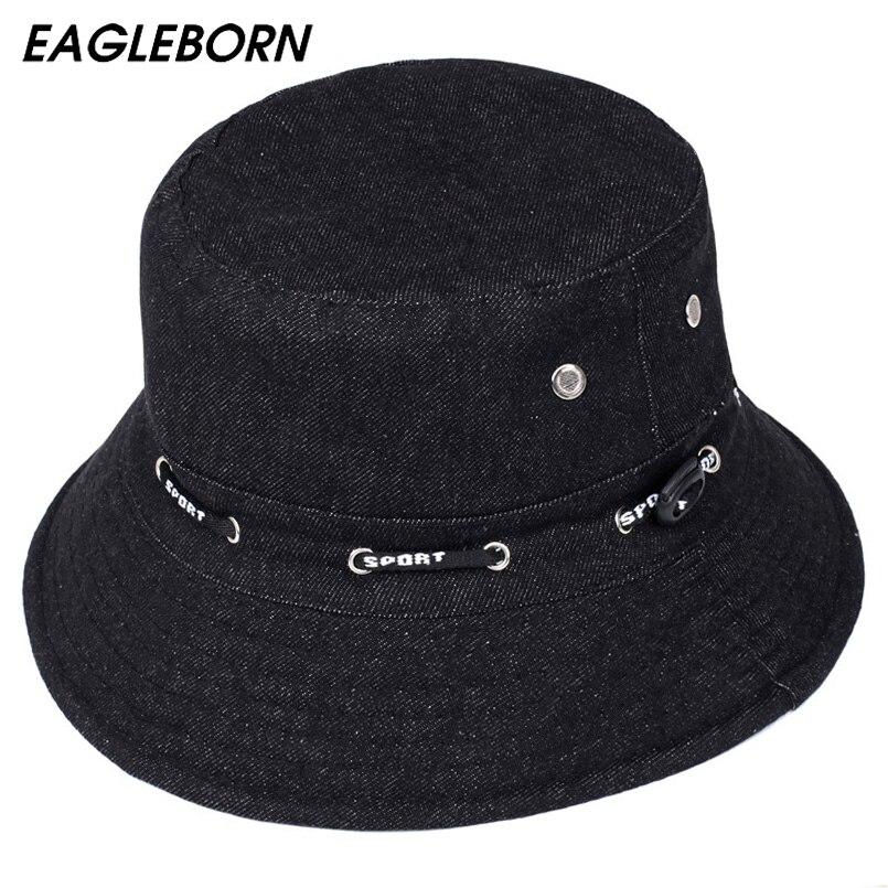2018 Hot Sale 2 Solid Colors Bucket Hats for Women Men ...