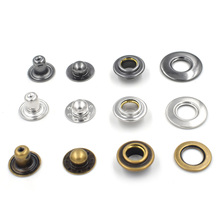 20sets/iot New copper material button. EU environmental non-toxic buttons. Brass rivet. Down Metal eyelets.
