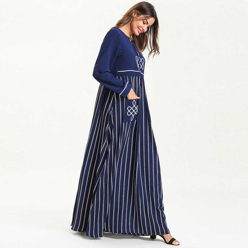 Абая для женщин 2019 кафтан абайя Дубай, Турция мусульманское платье хиджаб халат jilбаб Рамадан Caftan Elbise Турецкая мусульманская одежда