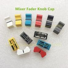 30pcs/lot Mixer Fader Knob Cap bore19mm For Yamaha Allen & Heath Soundcraft  Straight Slide Potentiometer Push Button