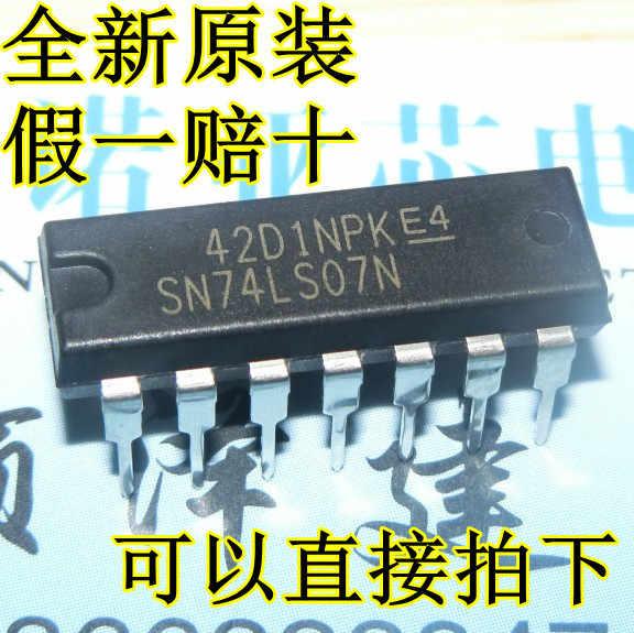 2PCS SN74LS07N 74LS07  Dip-14 NEW
