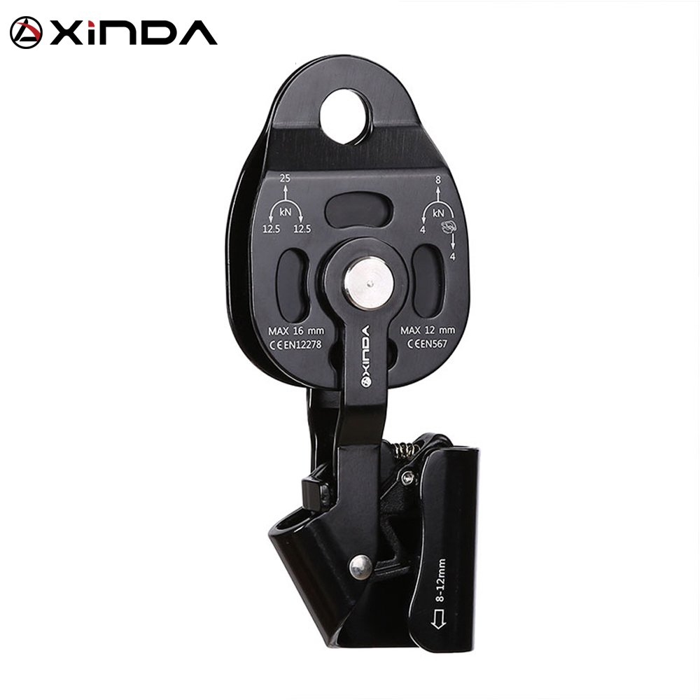 XINDA Top Quality Professional Lift Weight Pulley Device Rescue Survive Gear outdoor rock climb high altitude Heavy transport