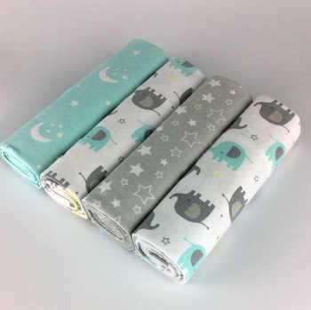 NEUE farbe 4 teile/paket 100% baumwolle flanell erhalt baby decke neugeborenen bunte cobertor baby bettlaken supersoft decke 76x76cm