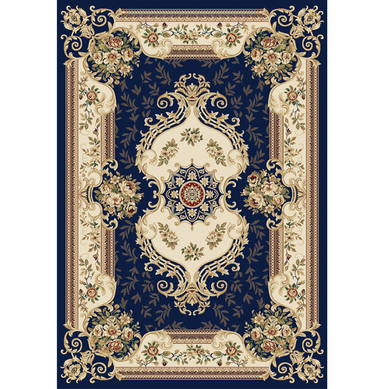 Style Palace salon tapis pour décor à la maison chambre chevet épaissir thé Table tapis canapé tapis 80*150 cm tapis de sol doux paillasson