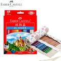 Faber Castell 72 Colored Pencils Lapis De Cor Professionals Artist Painting Oil Color Pencil For Drawing Sketch Art Supplies