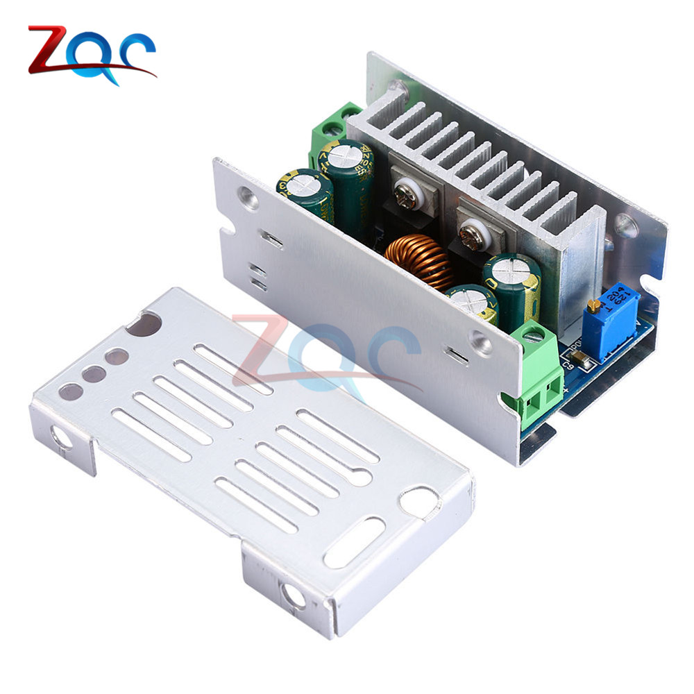 15A 200W Adjustable DC-DC Step Down Converter Buck Module 60V Adjustable Voltage Stabilized Synchronous Rectification Module