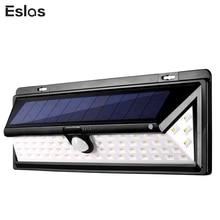 Eslas Solar Garden Light LED Lamp Motion Sensor Waterproof Outdoor Lighting Street Lights for Decoration Wall