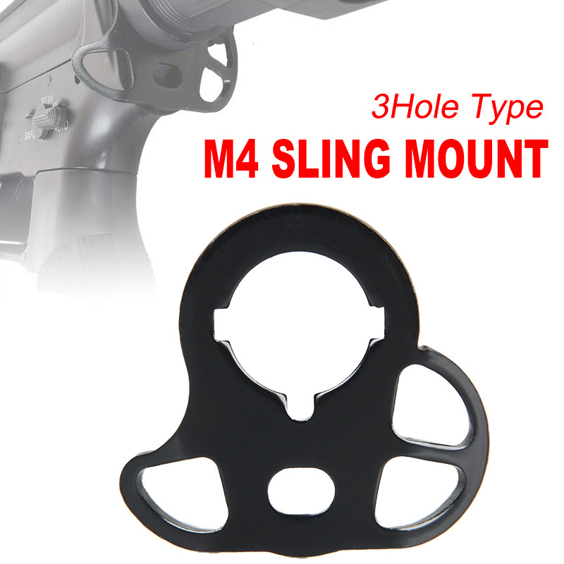 Tactical M4 AEG Style Series CQD Rear Sling Mount Sling Adapter For Hunting GZ33-0053