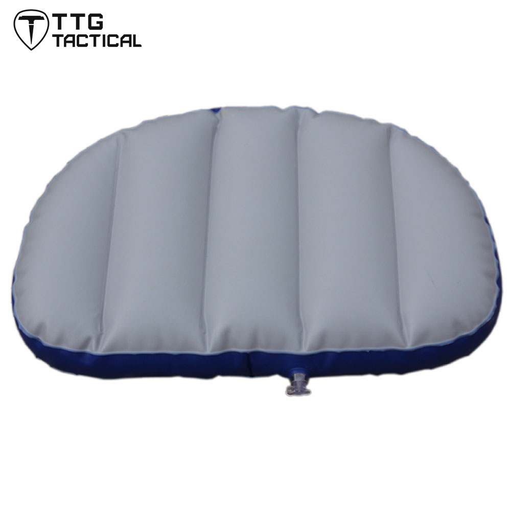 TTGTACTICAL Inflatable Seat Air Cushion Outdoor Camping Inflatable Boat Seat Cushion Camping Mat Rowing Boat Accessories