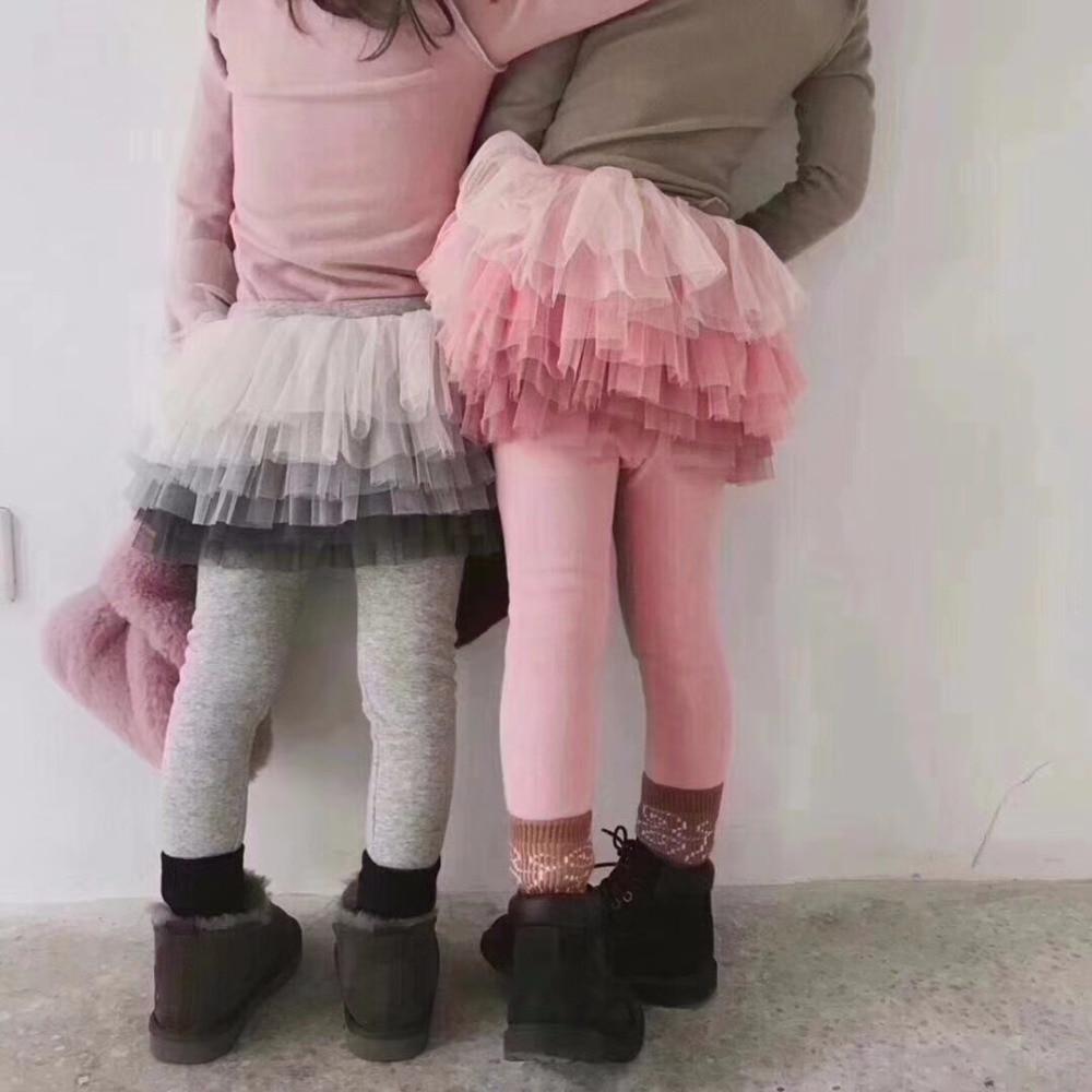 4cdb35940 Celveroso chica Legging falda-Pantalones pastel falda bebé niña primavera  otoño cálido Leggings ...