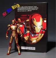 O Homem De Ferro Avengers Age of Ultron 7 & #034; 18 cm Mark 42 PVC Action Figure HOT