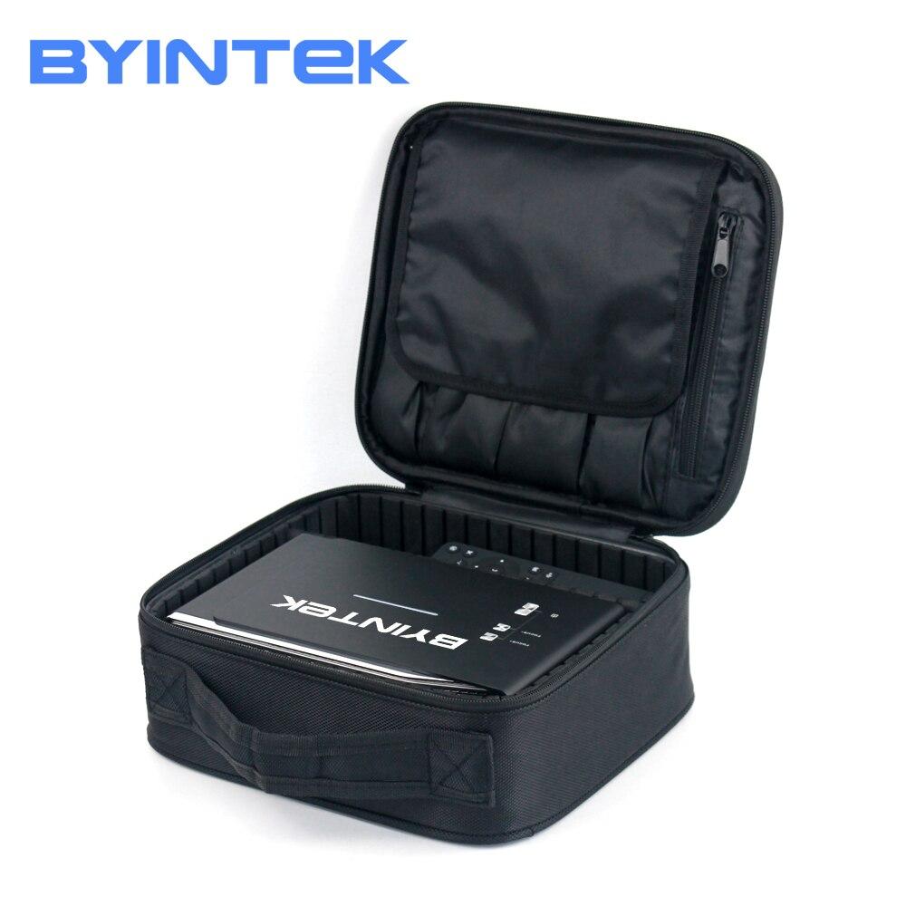BYINTEK D'origine De Luxe mini projecteur Cas Sac Portable Tissu Protection pour UFO R15 R11 R9 R7 CIEL GP70 K1